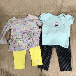 2 outfits
